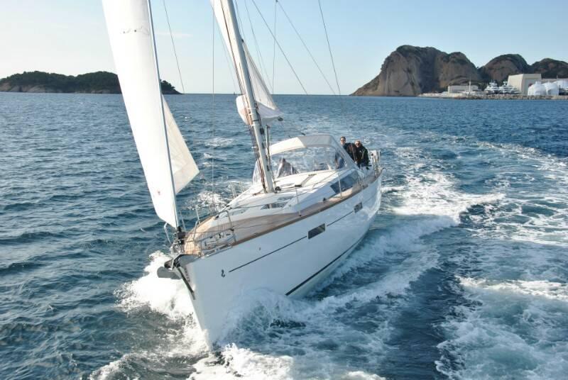 Oceanis 45, Anjamia