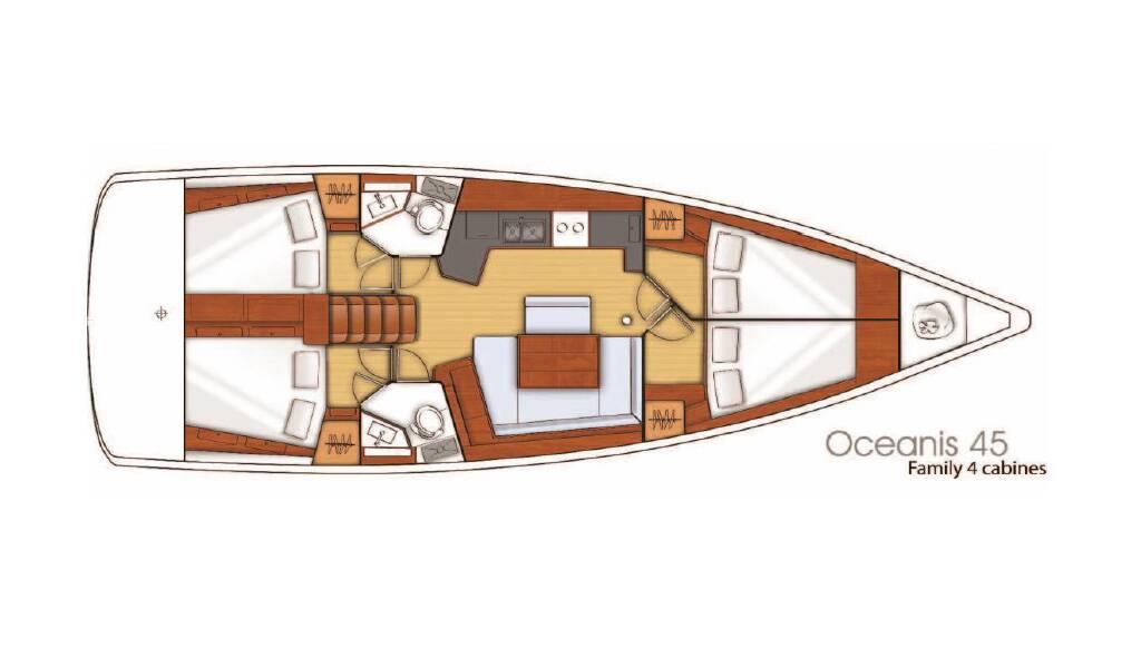 Oceanis 45, Nikita
