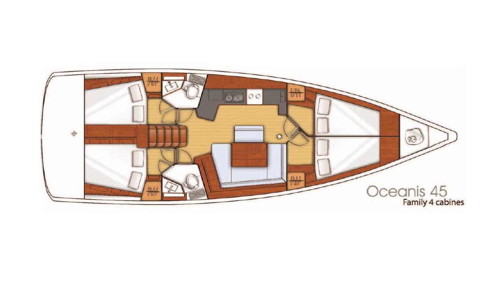 Oceanis 45, Jacqueline