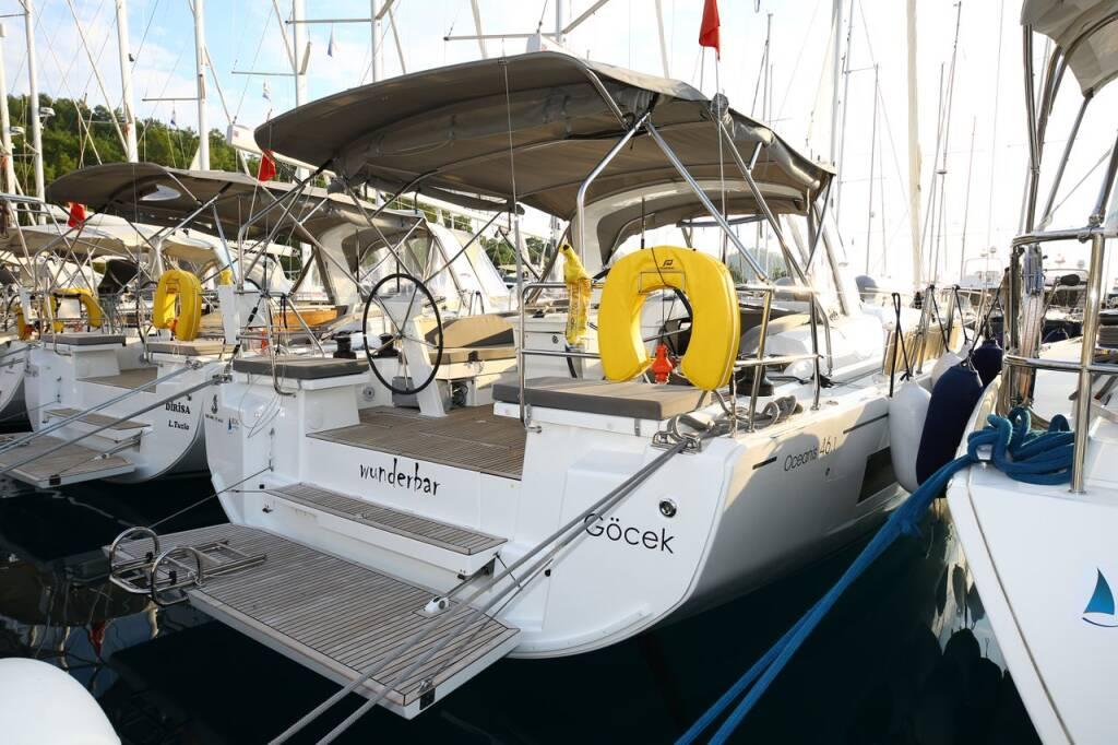 Oceanis 46.1, wunderbar
