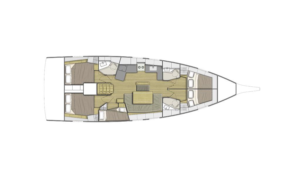 Oceanis 46.1, RAVISHING (sat)