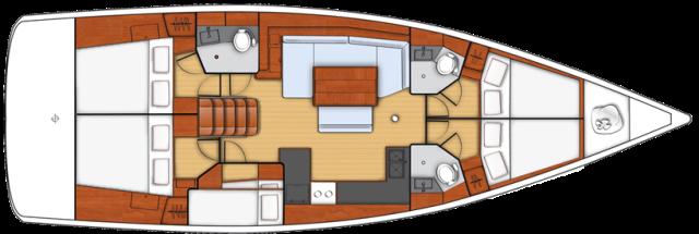 Oceanis 48 Svartklubben-Östhammar