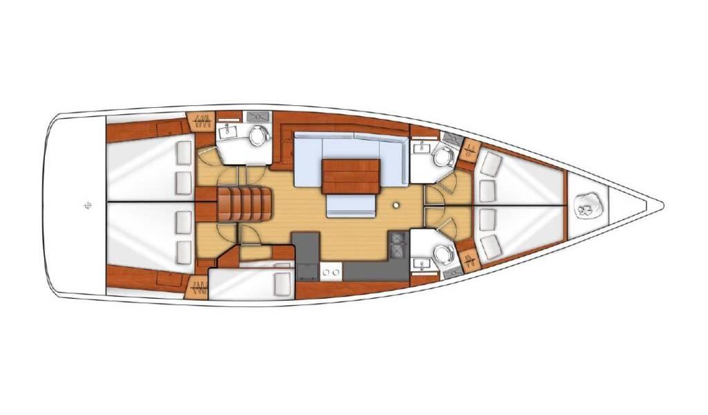 Oceanis 48, Vera