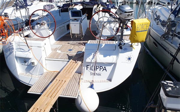 Sun Odyssey 439, Filippa