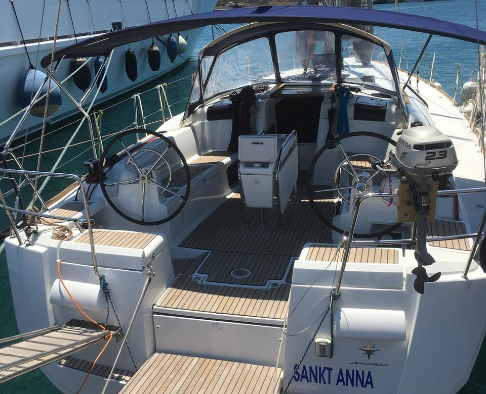 Greece Sailing yacht Sun Odyssey 439 Greece - Agios Kosmas Marina