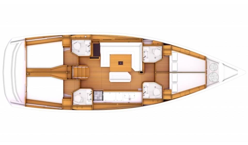 Sun Odyssey 479, Malin II
