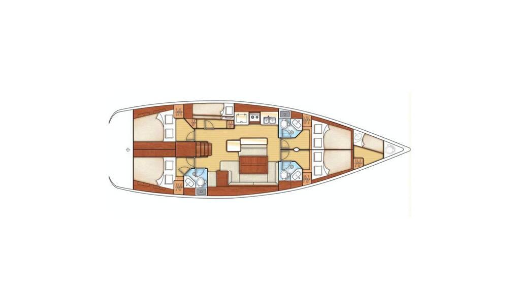 Sun Odyssey 509 Saphira SWE